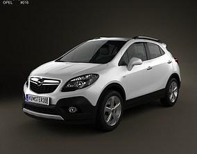 Opel Mokka 2013 3D
