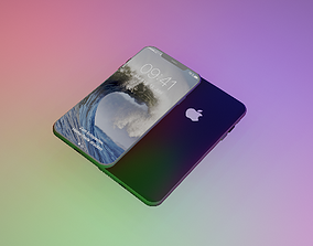iPhone XS Max 3D model realtime