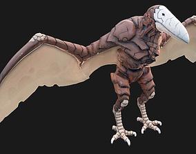 Predator 3D asset game-ready