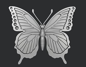 STL models for 3D printing and CNC butterfly