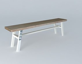 BALTIC bench houses the world 3D model