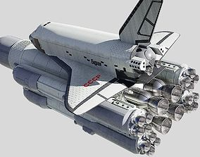 Buran space shuttle 3D model
