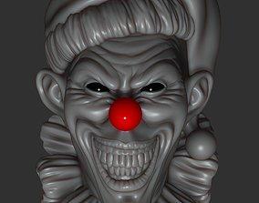 Scary clown 3D printable model