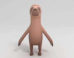 3D model Sloth