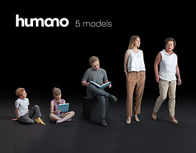Humano 5-Pack - PEOPLE - CASUAL - HOME - 5x 2