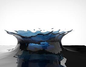 Water splash 3D
