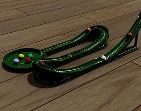 3D print model Kids Marble Rail Game