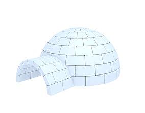 exterior Igloo 3D model