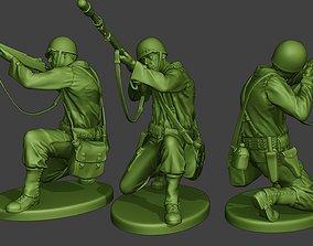 3D print model American soldier ww2 M7 Grenade A10