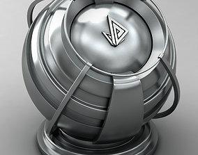 3D model VRAY SHADER---METAL---Terbium