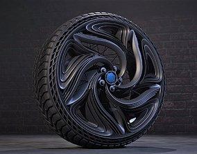 CFuturis wheel 3D model