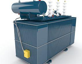 High voltage machine 3D model