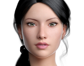 Cinderella III 3D asset game-ready