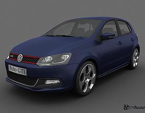 3D Volkswagen Polo GTI 5doors 2011