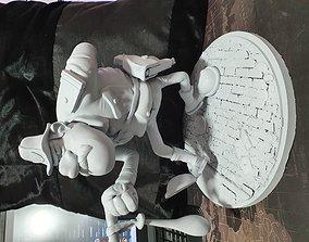 3D print model Police mortadel et Filemon