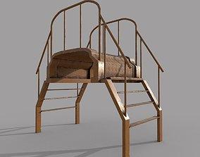 Crossover Platform PBR 3D model