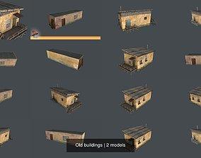3D model Old buildings