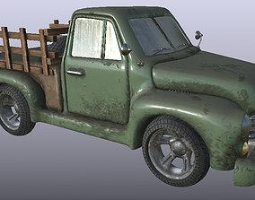 3D Caminhonete - envelhecida