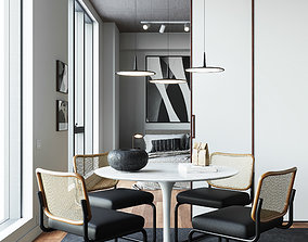 3D New York Apartment interior scene