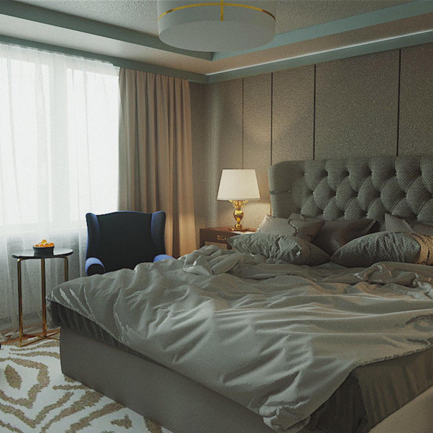 modern Interior - bedroom