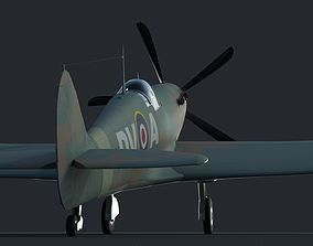 Spitfire 3D model battle