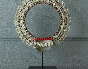 Decorative Tribal Necklace by ZARA HOME 3D model