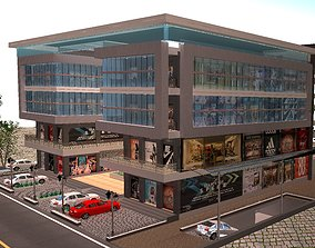 elevation 3D Mall Elevation