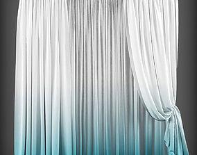 Curtain 3D model 136 VR / AR ready