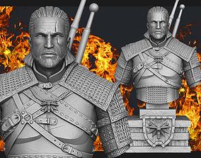 3D print model Witcher Geralt of Rivia bust