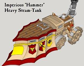 10mm Imperious Heavy Hammer Steam-Tank 3D print model