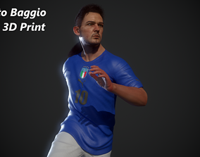 sculptures Roberto Baggio model 3d print