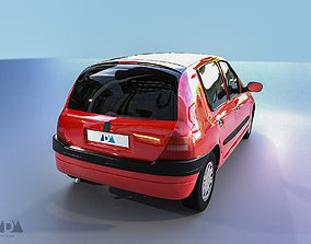 3D asset Renault Clio 2 Phase 1