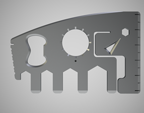 Elephant Multi Tool 3D print model