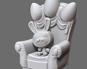 Easter Rabbit 3D printable model