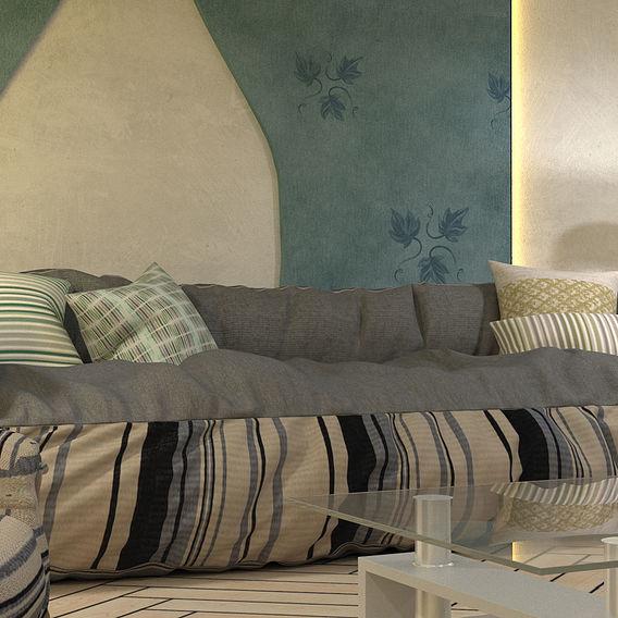 Living room simple Design ❤️ #El_Nile
