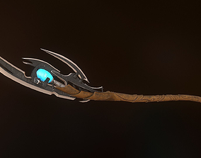 3D asset Loki Scepter - Game mesh