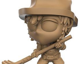 3D printable model 30mm farmer man