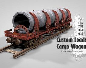 3D Custom Loads Cargo Wagon