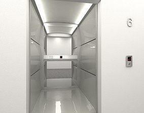 Elevator Progress mod1 3D asset