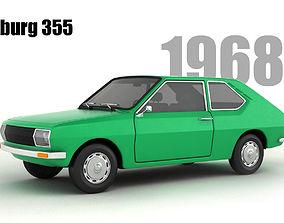 3D model Wartburg 355