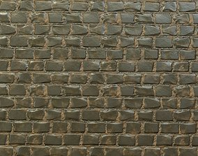 3D model low-poly Bricks