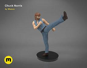 3D printable model Chuck Norris Figure