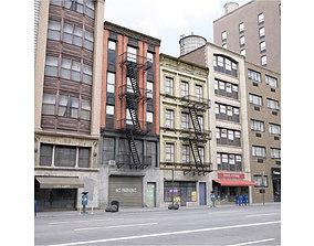 City Block A 3D asset