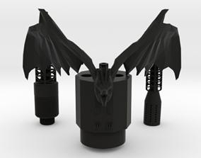 3D print model SAMAN DRAGON HOOKAH FULL KIT