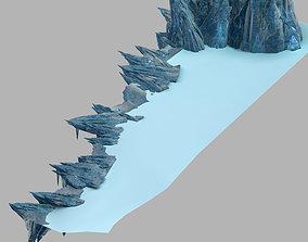 3D Dragon Fortress-Terrain Ice Edge