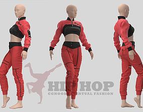 Women Hiphop Jumpsuit - 34 Marvelous Designer and