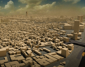 islam Cairo City Center 3D