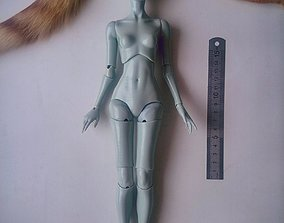 3D BJD - Ball Jointed Doll model