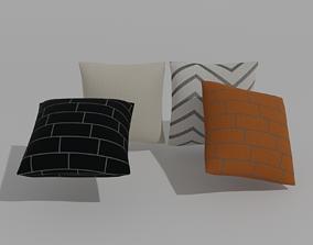 PILLOWS 3D model livingroom