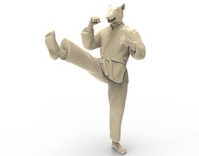 Rat Front kick 3D printable model